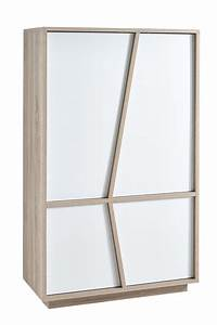 Plateau Deco Design : deco bahut blanc massif sur idee alinea bois vitre plateau design tiroirs portes meuble aphodite ~ Teatrodelosmanantiales.com Idées de Décoration