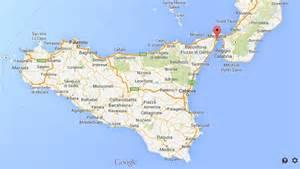Messina Sicily Italy Map