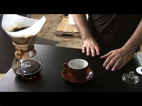 How To Make A Great Cup Of Coffee With A Chemex Coffee