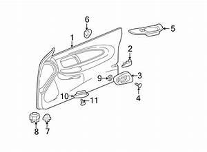 Chevrolet Monte Carlo Door Window Switch Bezel  Ss