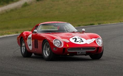 Most Expensive Racing Car by Sold For 163 37 7m 1962 250 Gto Becomes The Most