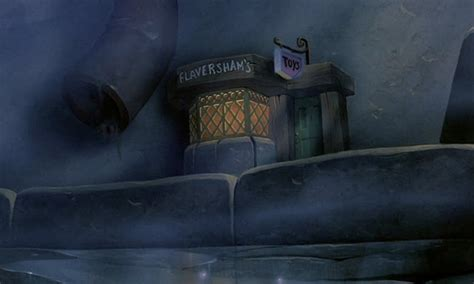 animation backgrounds  great mouse detective