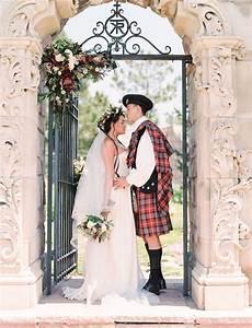 "Romantic Scottish Wedding Inspiration from the ""Outlander"