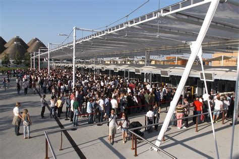 Ingressi Expo 2015 by File Expo 2015 Ingresso Visitatori Porta Ovest Jpg