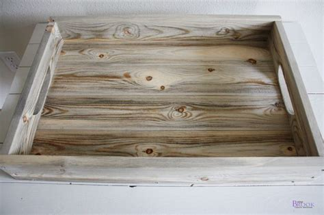 wooden tray  serving woodworking projects plans