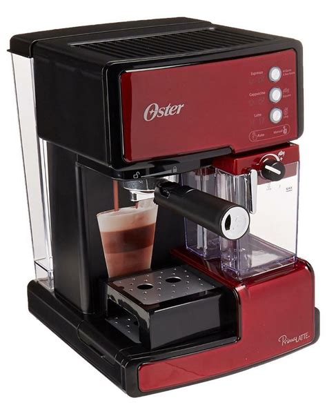 The best coffee comes from the best beans, but the machine that makes it also plays a huge part in the quality of the brew. Oster Prima BVSTEM6601R Latte Espresso cappuccino Coffee Maker Machine - Red   in Basingstoke ...