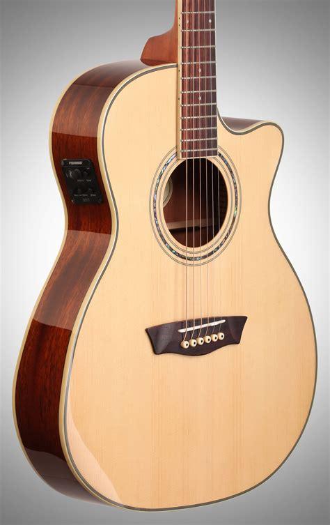 washburn wcg18ce comfort series acoustic electric guitar