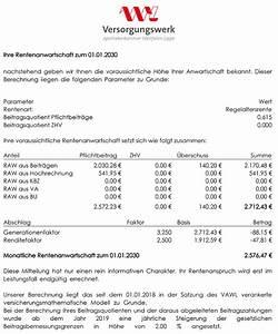Rentenbeginn Berechnen : online rentenrechner f r versorgungswerke rentenversicherungen ~ Themetempest.com Abrechnung