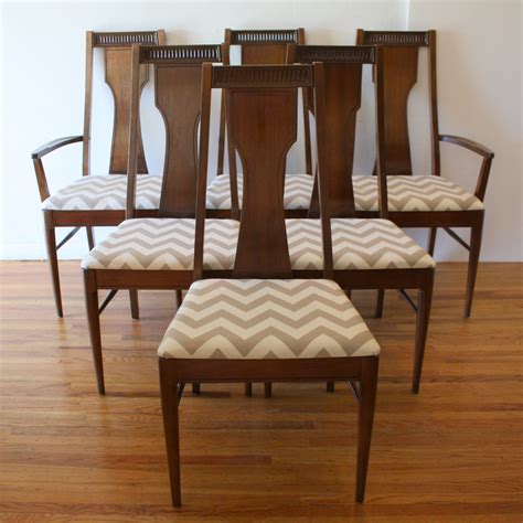 Mid Century Modern Dining Chair Sets By Broyhill Picked