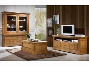 Meuble Tv Chene Massif Moderne : emejing meuble classique gallery awesome interior home satellite ~ Teatrodelosmanantiales.com Idées de Décoration