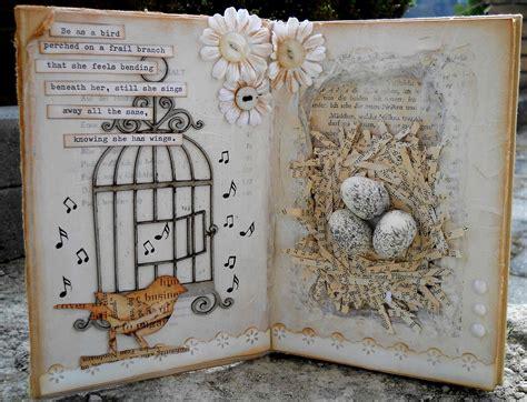 altered book workshop mosaik scrappers