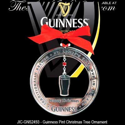 guinness christmas ornament irish pint