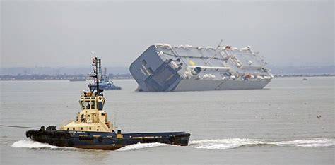 How Much Does A Deck Boat Weight by Hoegh Osaka Cargo Ship Was Deliberately Grounded