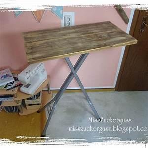 Darf ich zu tisch bitten beistelltisch aus alten brettern for Tisch bügelbrett