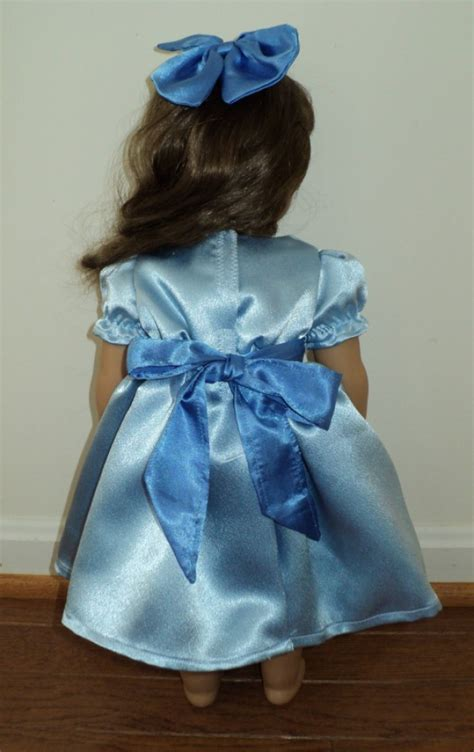 New Handmade Peter Pan Wendy Satin Costume 2pc Dress Set