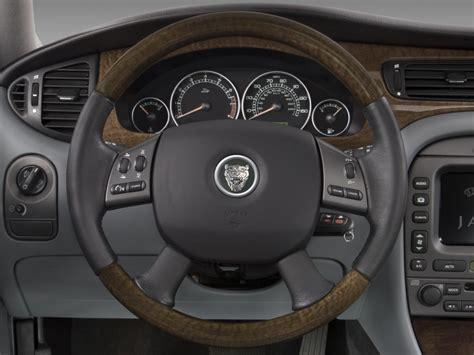 2008 Jaguar X-type 4-door Wagon Steering Wheel