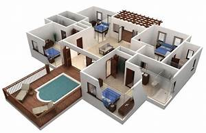 Fascinating House Plans 3d 17 Best Images About 3d House ...