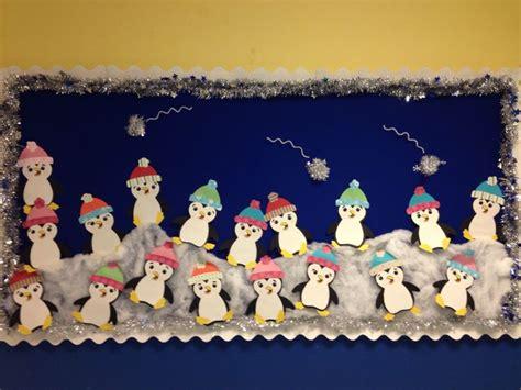 winter penguin bulletin board winter bulletin boards
