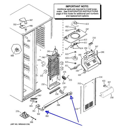 ge refrigerator water dispenser  working
