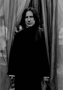 Severus Snape played by Alan Rickman. Snape loved Harry ...
