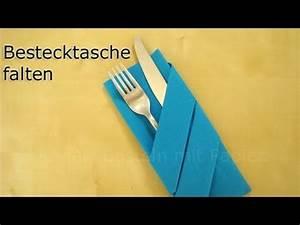 Youtube Servietten Falten : servietten falten bestecktasche falten z b f r hochzeit diy deko youtube ~ Frokenaadalensverden.com Haus und Dekorationen
