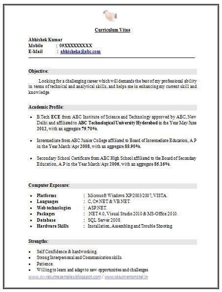 Sles Of A Cv by Pin By Ahmad Thekingofstress On Kumpulan Contoh Resum 233