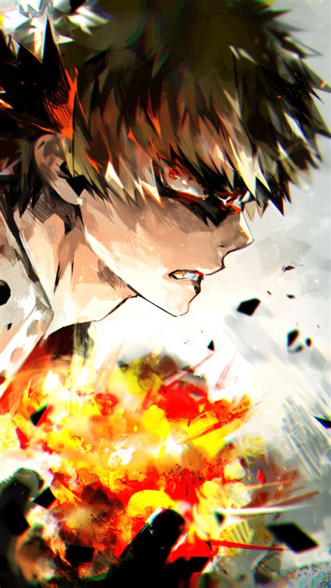 There are already 8 enthralling, inspiring and awesome images tagged with mha bakugou. Katsuki Bakugo Wallpapers - Wallpaper Cave
