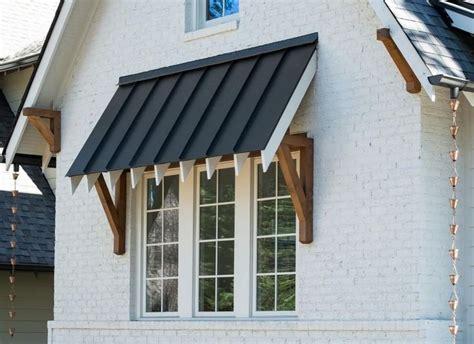 pike properties  instagram ahhh  details standing seam metal window awning cedar