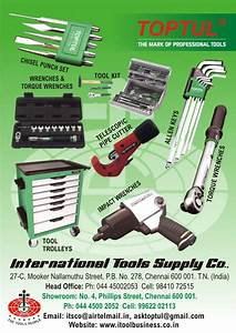 International Tools Supply Co In Perambalur  Our