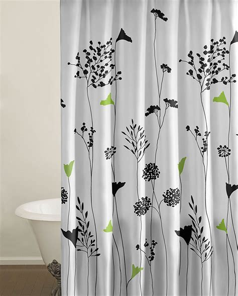 Brown And Aqua Shower Curtain by Fabric Shower Curtains That Will Dress Up Your Bathroom