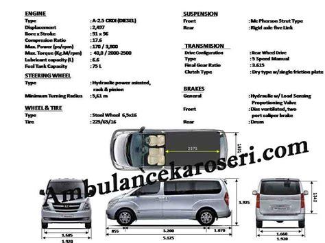 Mobil Gambar Mobilhyundai Starex by Karoseri Mobil Ambulance Hyundai H1 Starex Mobil Ambulance
