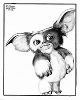 Gizmo Gremlins Tattoo Cartoon Drawings Coloring Movie Pages Google Deviantart Sketches Pencil Sketch Draw Animaux Horror Movies Line Die Disney sketch template