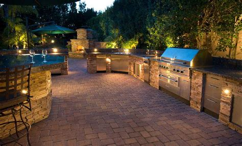 image gallery outdoor kitchen lighting