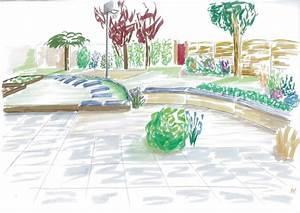 Jardin Dessin Couleur : concevons ensemble des espaces et jardins qui vous ~ Melissatoandfro.com Idées de Décoration