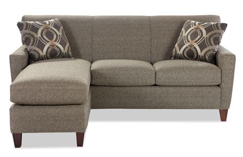 Contemporary Chaise Sofa by Contemporary Sofa With Chaise By Craftmaster Wolf And