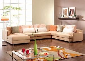Beige Sofa With Wall Unit — Radionigerialagos com
