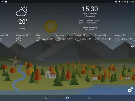 Animated Weather Live Wallpaper - animated landscape weather live wallpaper free apk