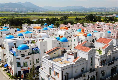 exotic villages  south korea korea  package