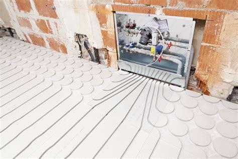 Platten Für Fussbodenheizung by Fu 223 Bodenheizung In Trockenestrich Auf Holzbalkendecke