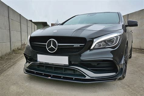 Explore the 2021 amg cla 45 coupe's features, specifications, packages, options, accessories and warranty info. Mercedes CLA 45 AMG C117 Front Lip 2016- - Body Kit