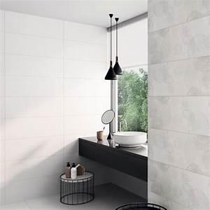 Carrelage Salle De Bain Blanc : carrelage mural blanc mat antarctique carrelage salle de ~ Melissatoandfro.com Idées de Décoration
