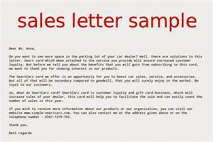 Sales letter sample samples business letters for Great sales email templates