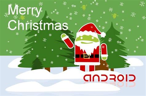 a special list of android apps games and live wallpapers to get you into christmas spirit