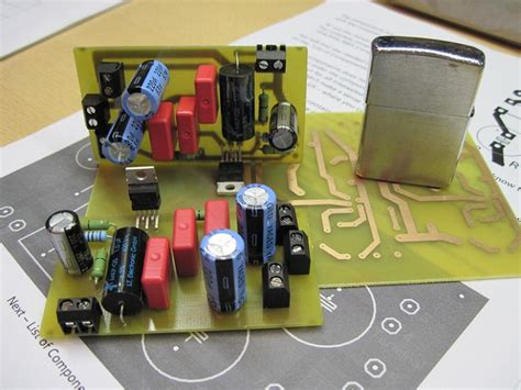 diy tda  fi chip amplifier chipamp
