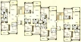 house plans with apartments apartment unit plans apartments typical floor plan