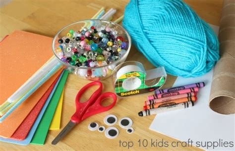 Kids In The Craft Room Basic Craft Supplies  Make And Takes