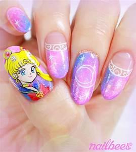 Sailor Moon Nail Art | nailbees
