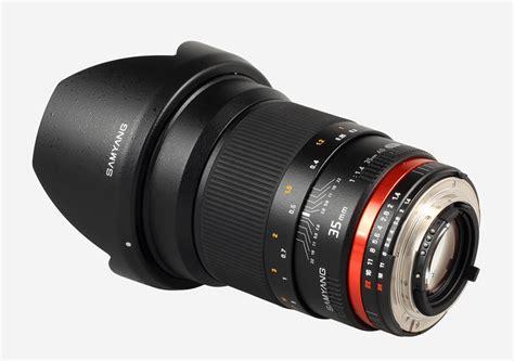 samyang 35mm samyang 35mm f 1 4 as umc lens gets a focusing scale