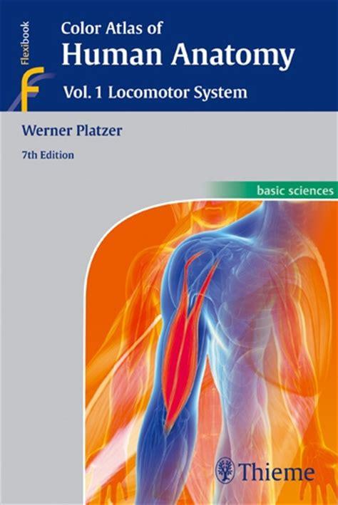 anatomy color atlas of human anatomy