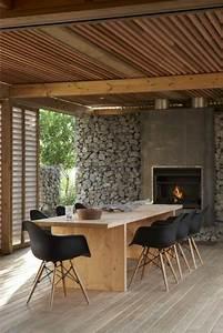 1000 idees a propos de salle a manger moderne sur With salle À manger contemporaine avec table en pierre